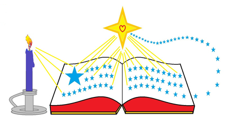 Advent Bible Studies Image with Stars