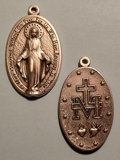Miraculous Medal of the Blessed Virgin Mary